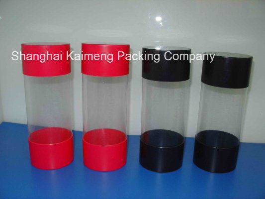 Promotion Clear Plastic Round Box for Food Package (plastic round box)