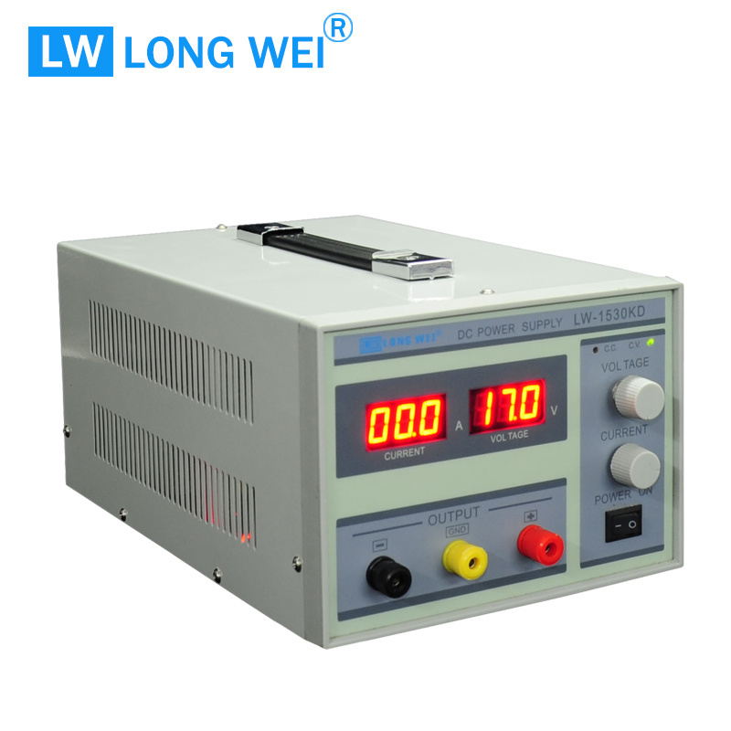 Lw1530kd Repair Phone 15V 30A Adjustable Variable DC Power Supply
