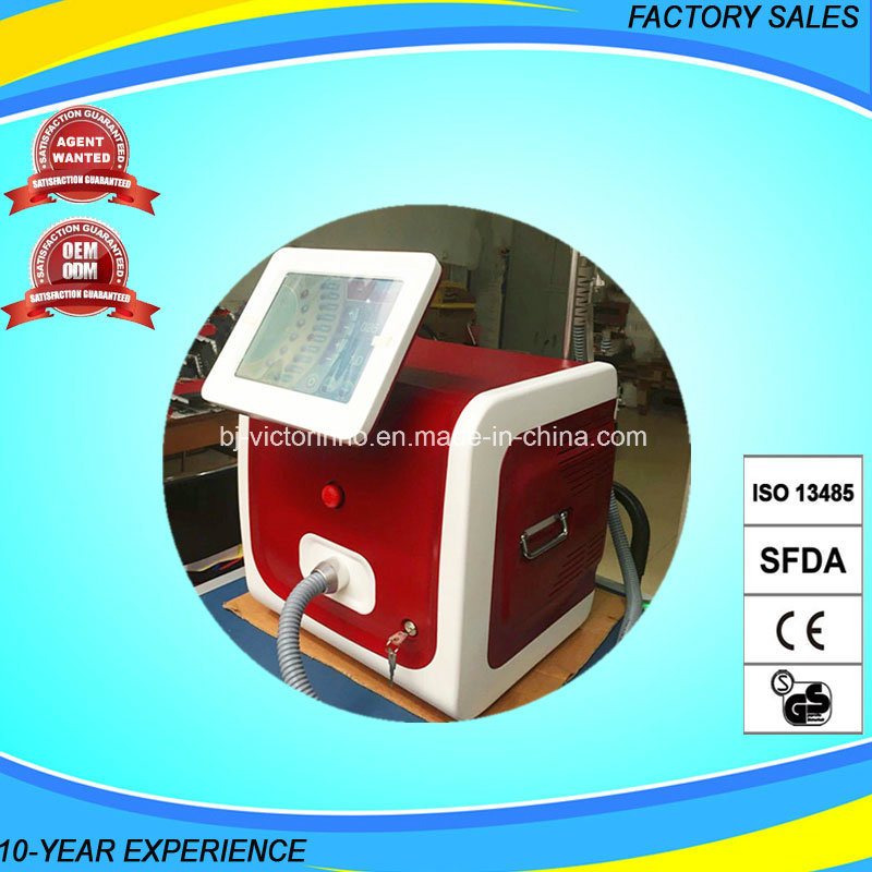 Effective 808nm Diode Laser Mini Fast Hair Removal