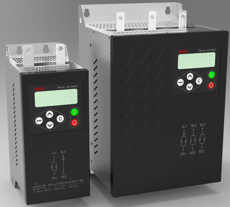 Three-Phase 500A Intelligent AC Power Controller for Heating and Temperature Control