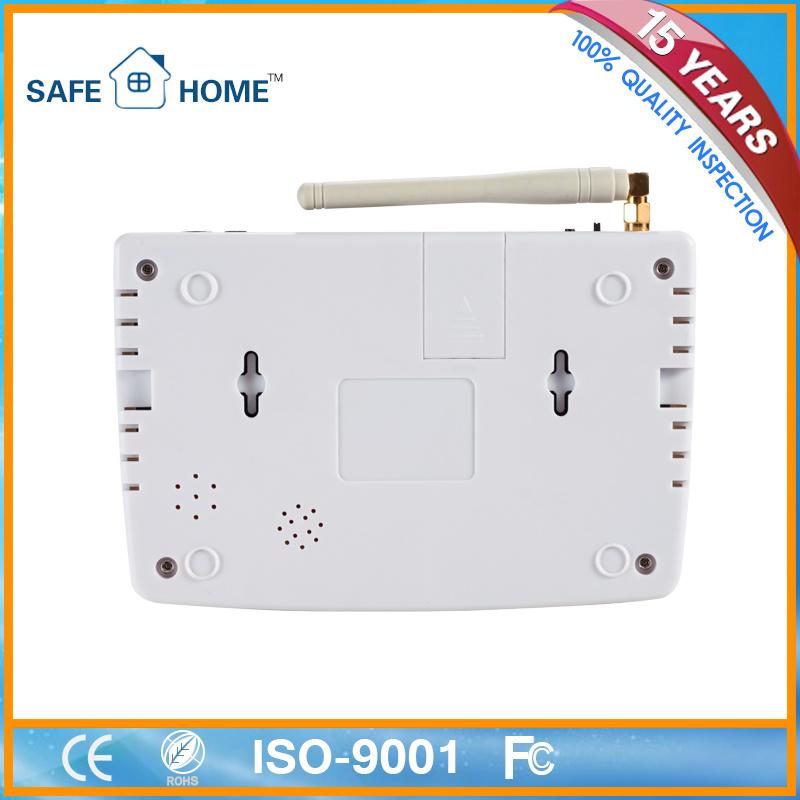Smart Hot Multifunction Support Cms Burglar GSM Alarm System