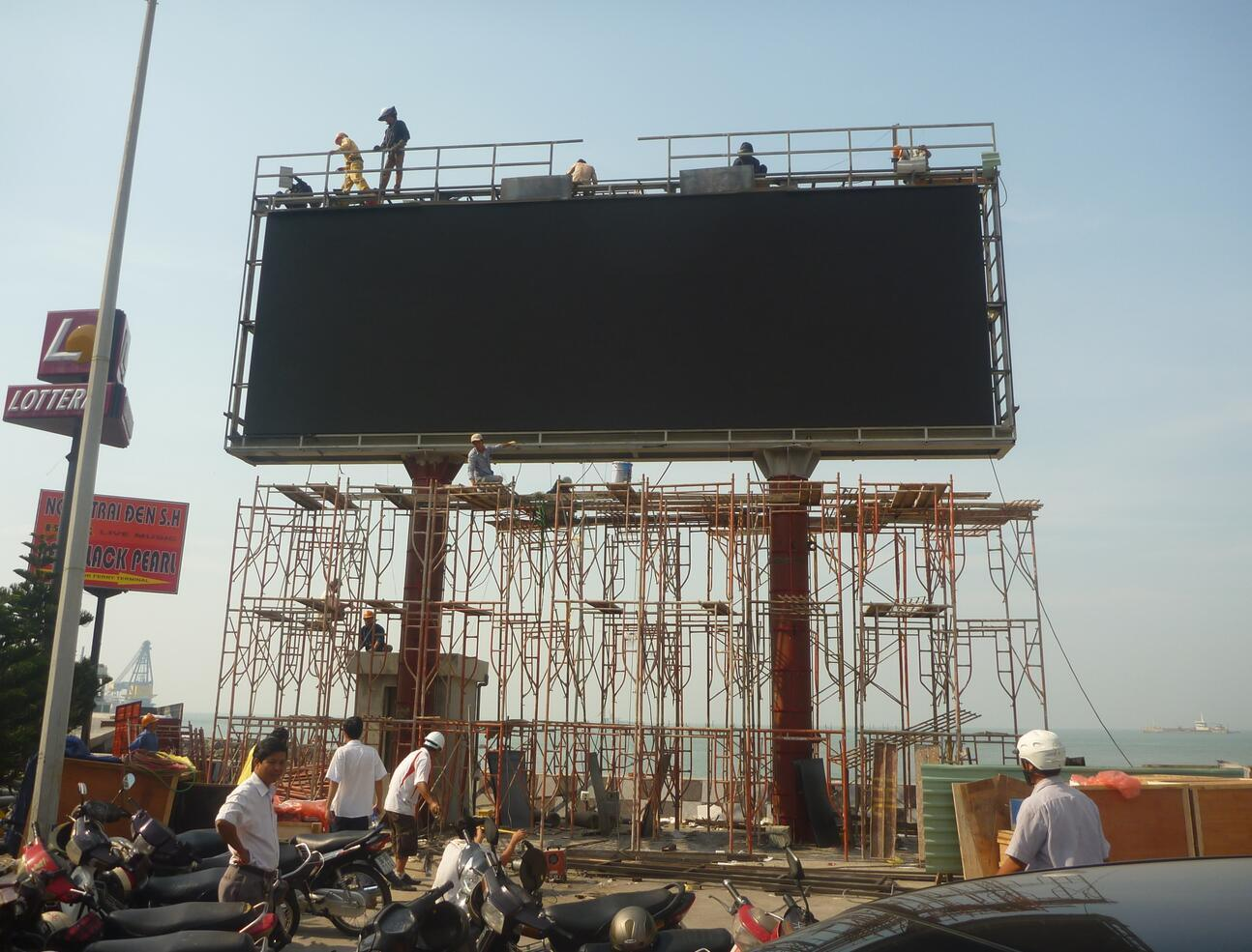 Ckgled Outdoor P6mm LED Display / LED Sign for Commercial Sites