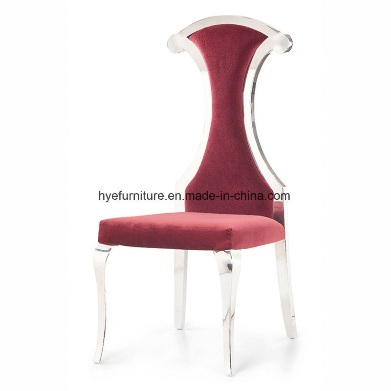European Leisure Dining Furniture New Design Fabric Dining Chair (D06)