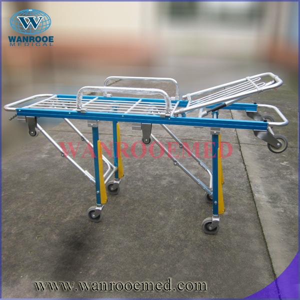 High Quality Aluminum Alloy Folding Ambulance Stretcher