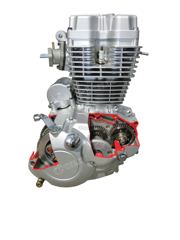 3D150-B Motorcycle Engine