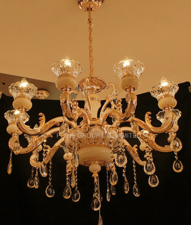 European Home Decoration Lighting with Zinc Alloy