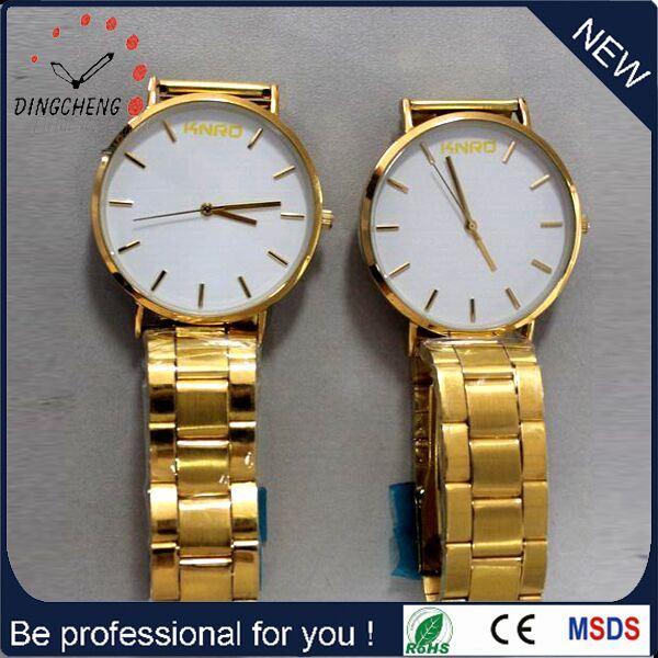 Swiss Dw Nylon Men′s Quartz Ladies Wrist Stainless Steel Watch (DC-295)
