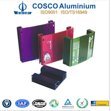 Competitive OEM Aluminum Extrusion for Amplifer with CNC Machining
