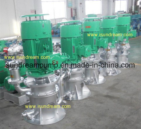 Marine Vertical Self-Priming Centrifugal Water Bilge Ballast Pump, Cooling Pump and Fire Pump