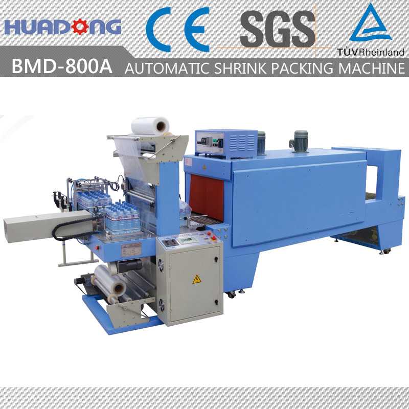 Automatic Water Bottle Shrink Wrapping Machine