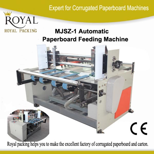 Automatic Paperboard Feeder Machine Connect with Printer