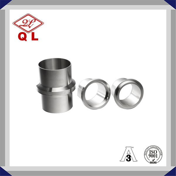 3A Stainless Steel Sanitary Male I-Line Long Weld Ferrule 14wli