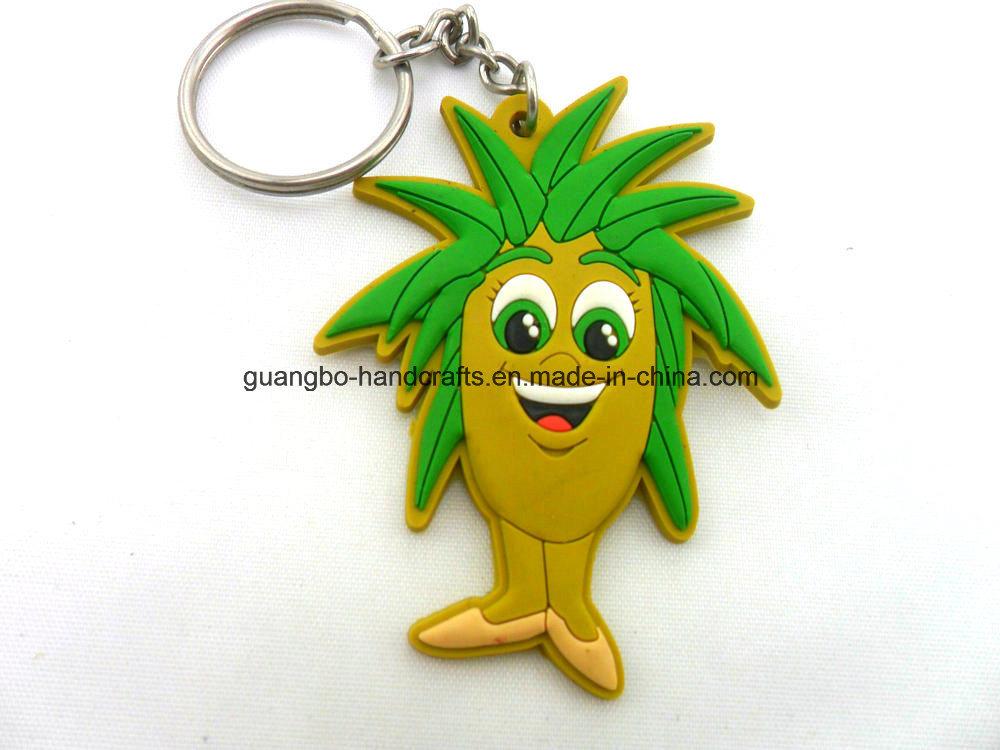 3D Promotion Soft PVC Custom Rubber Keychain