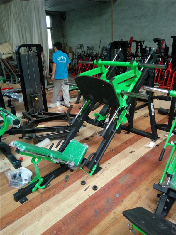 45 Degree Leg Press, Fitness Hammer Strength Gym Equipment