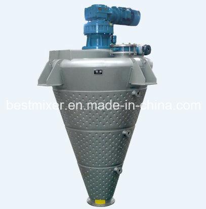 Central Spraying Cone Mixer