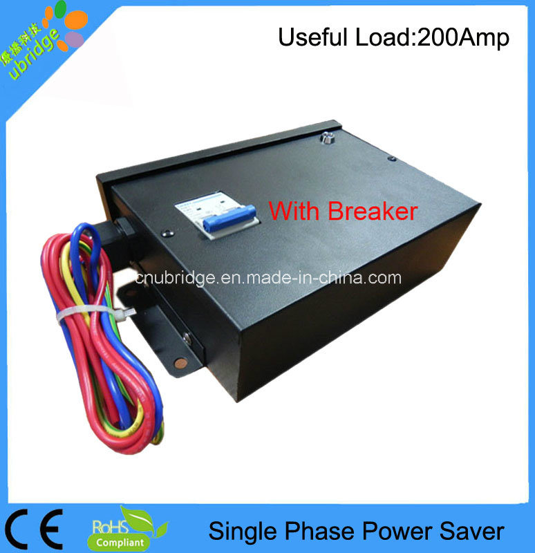 Single Phase Power Saver/Energy Saver/Power Electric Saver with Useful Load 200AMP
