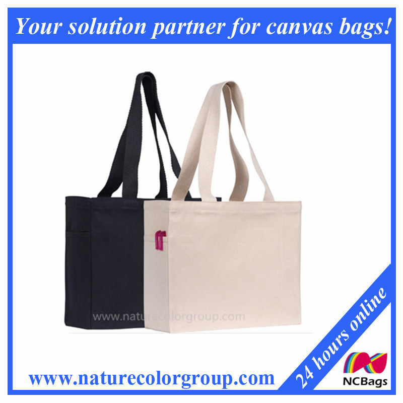 Cotton Canvas Tote Shopping Bag Promotional Bag