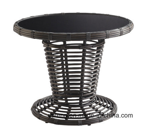 Popular New Design Wholesale Outdoor Wicker Furniture Round Table and Chairs for Restaurant &Banquet (YT641)