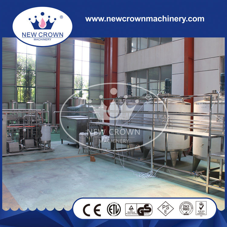 Capacity Customized Juice Processing Line in Stainless Steel