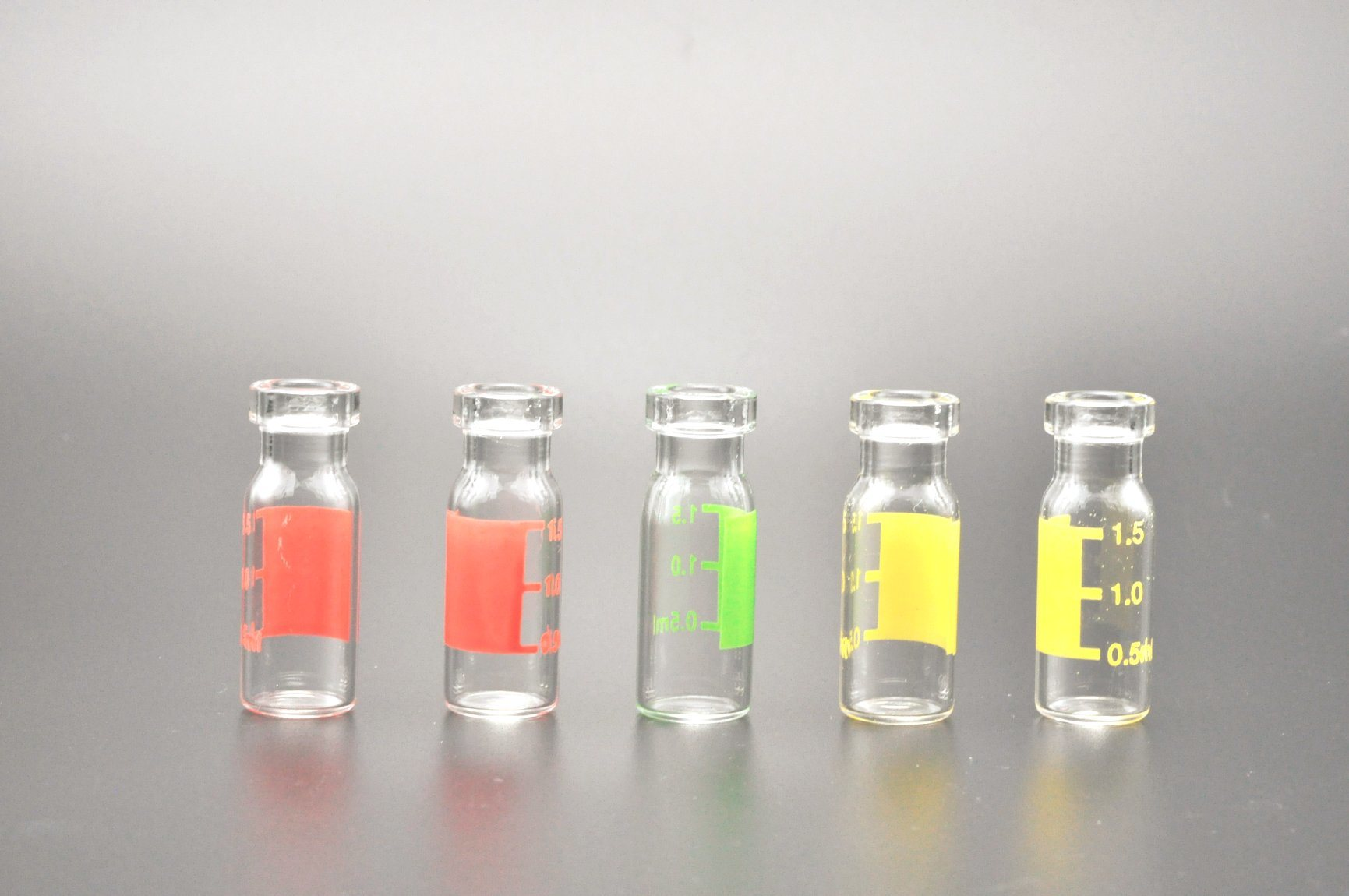 1.5ml Glass Autosampler Vials for HPLC and Gc