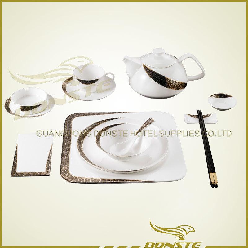 Stained Ceramic 12 PCS Crescent Series