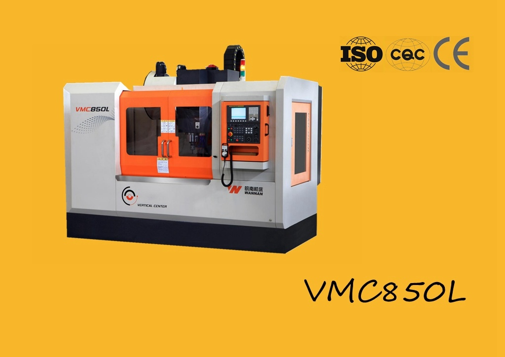 Vmc850L Vertical Machining Center, Popular Model