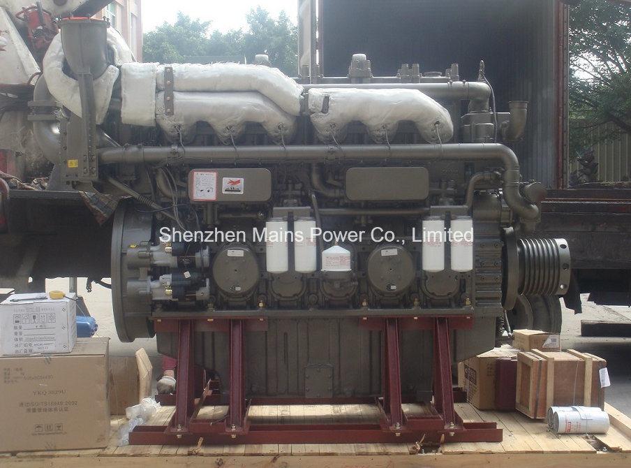 925HP Yuchai Marine Diesel Engine Inboard Boat Motor Boat Engine