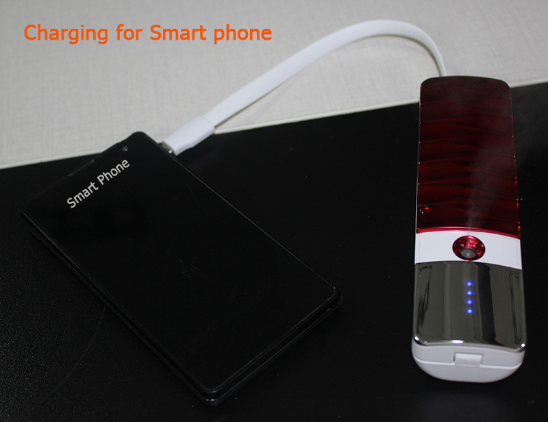 Face Humidifier 3000mAh Mobile Portable Powerbank