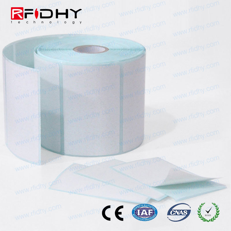 MIFARE Passive Adhesive RFID Label Sticker Roll Tags for Printer