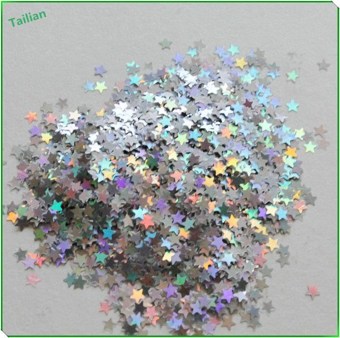 Laser Pet Star Glitter Powder