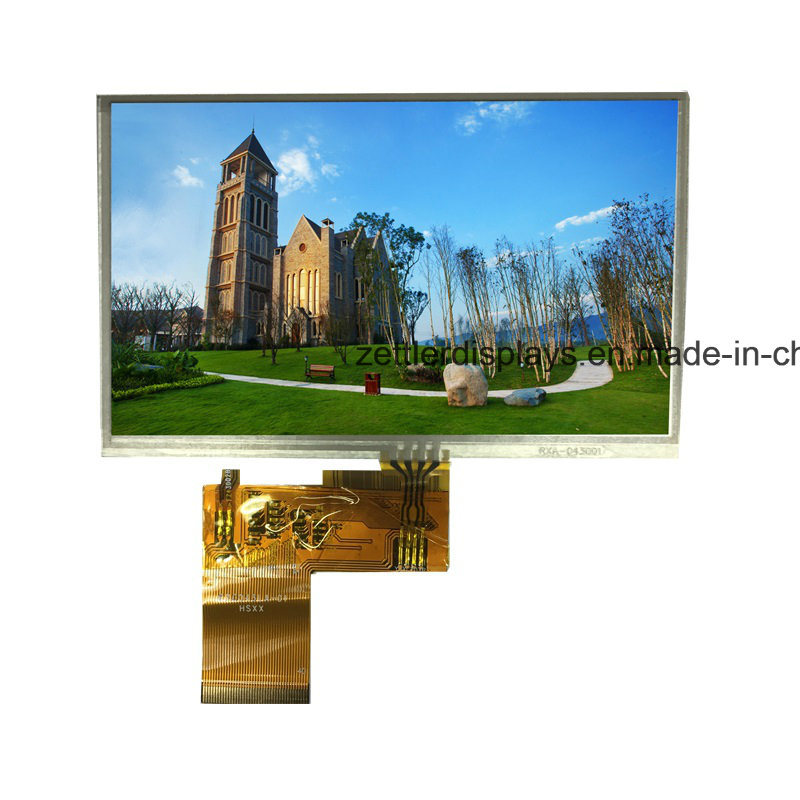 "4.3""TFT with Resistivetouch Panel, RGB Interface, 480X272: ATM0430d25-T,"