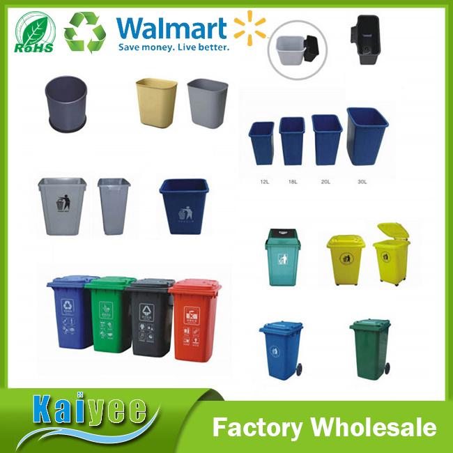 Plastic Trash Can / Rubbish Garbage Bin / Dustbin