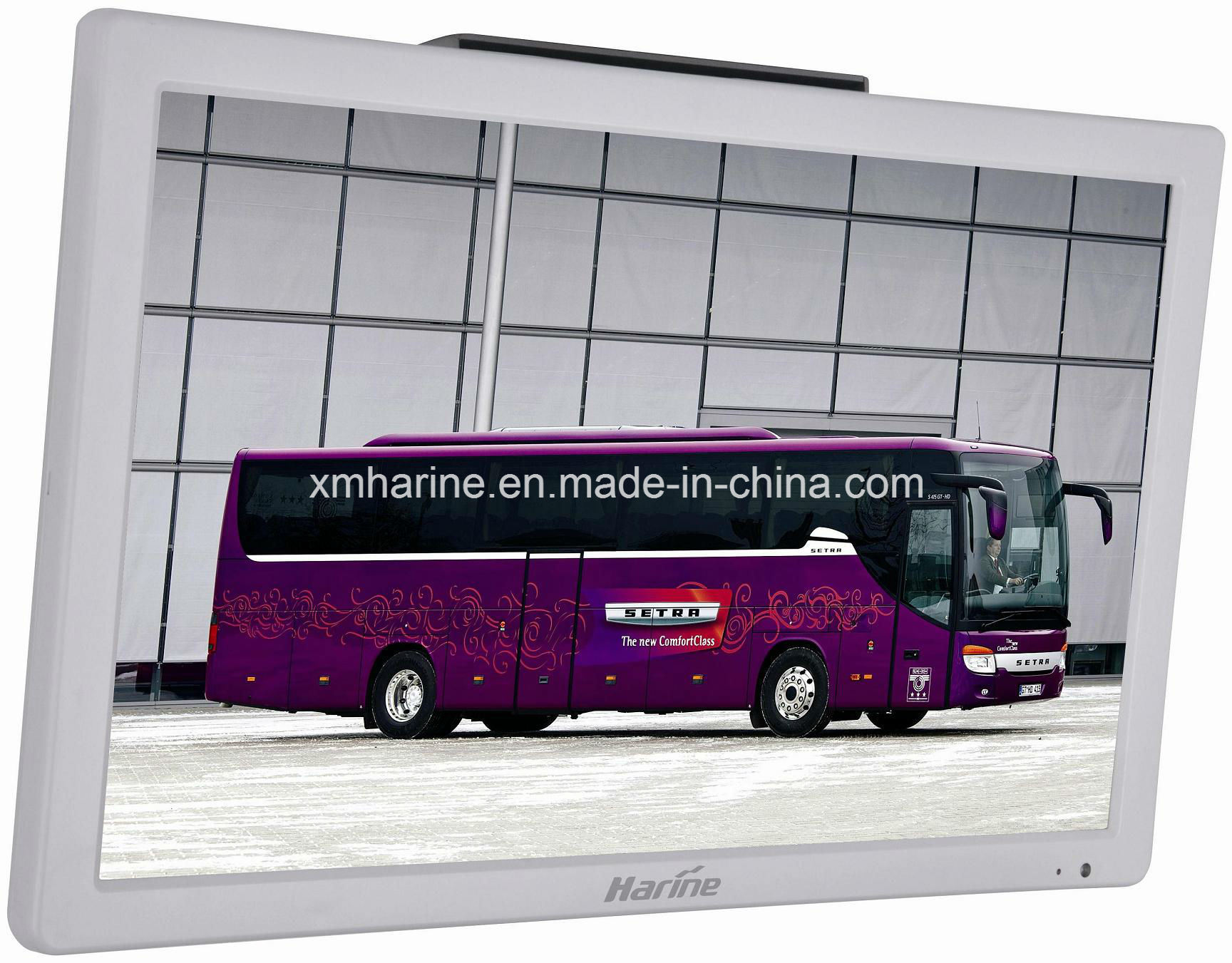 18.5 Inch Bus Monitor Advertising LCD Display Color TV