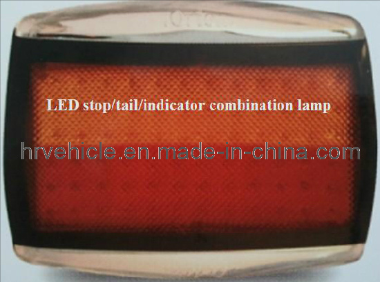 Adr Rectangular LED Stop Indicator Reverse Tail Light