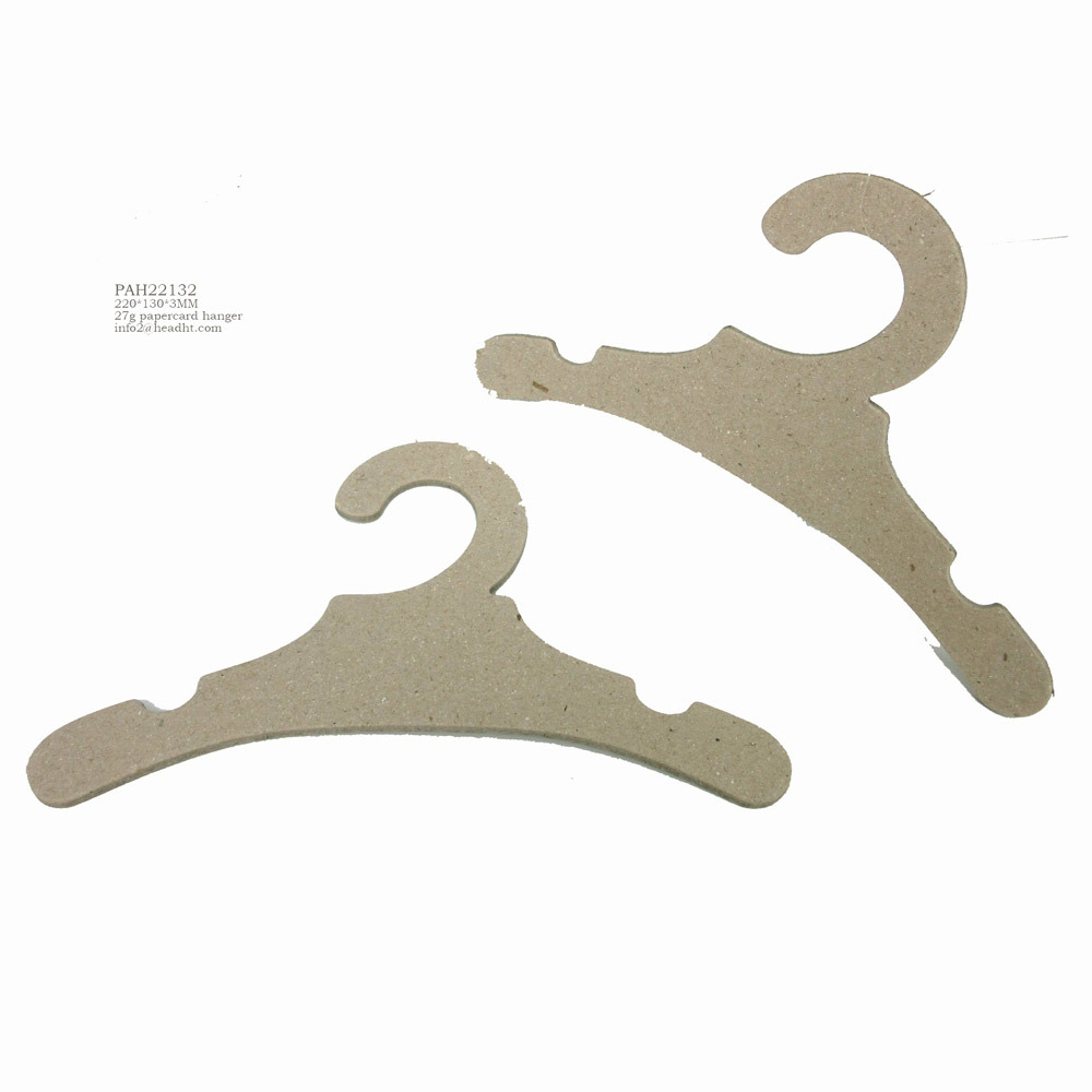 Eco-Friendly Recyclable Paper Cardboard Coat Hanger for Shoes