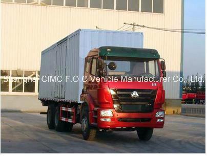 Sinotruk Haohan 10-Wheels 6*4 Special Vehicle Van Truck