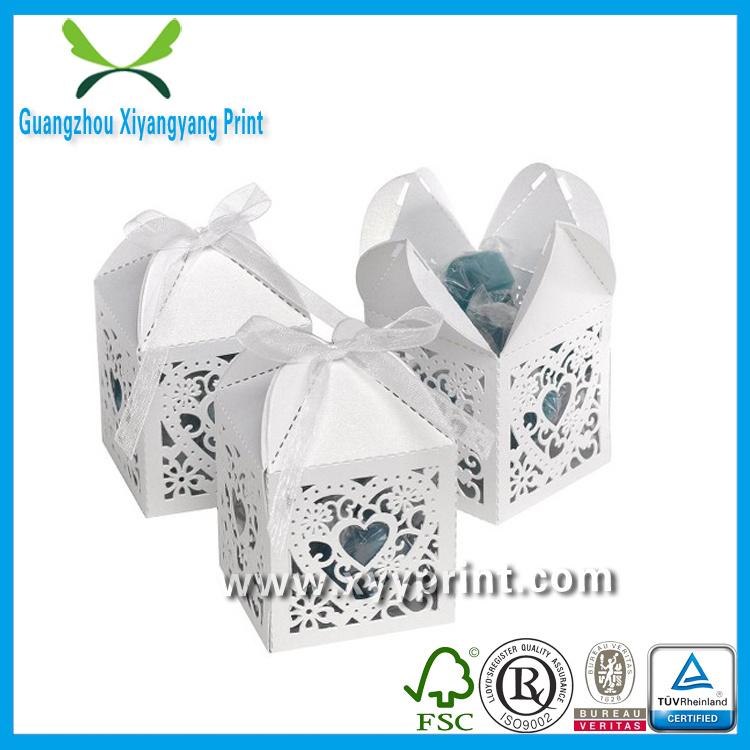 Custom Fancy Paper Wedding Gift Box Wholesale