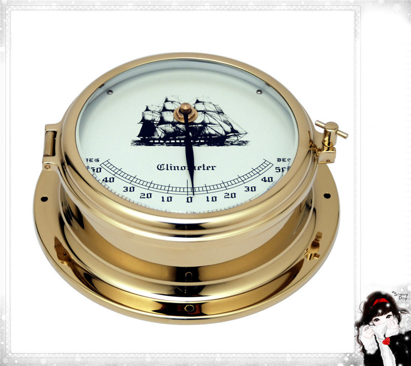 Best Quality Brass Case Nautical Clinometer