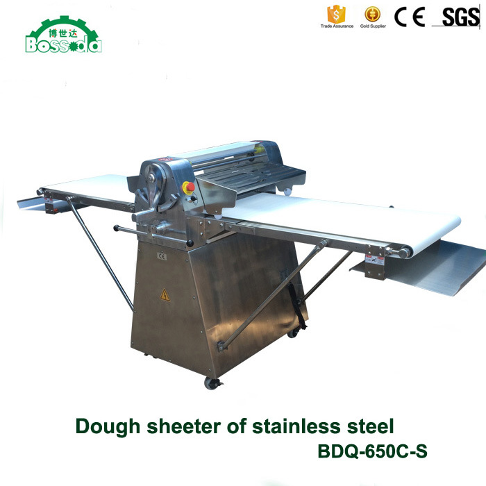 Full-Stainless Steel Floor Type Dough Sheeter Bdq-650CS