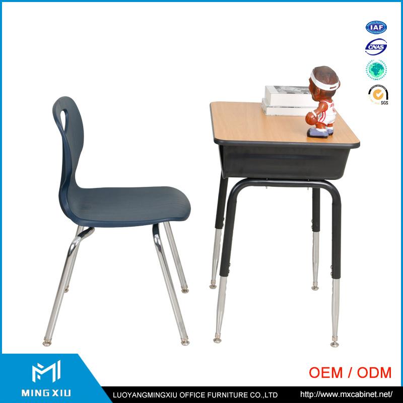 Mingxiu School Furniture Cheap School Desk and Chair / School Desk