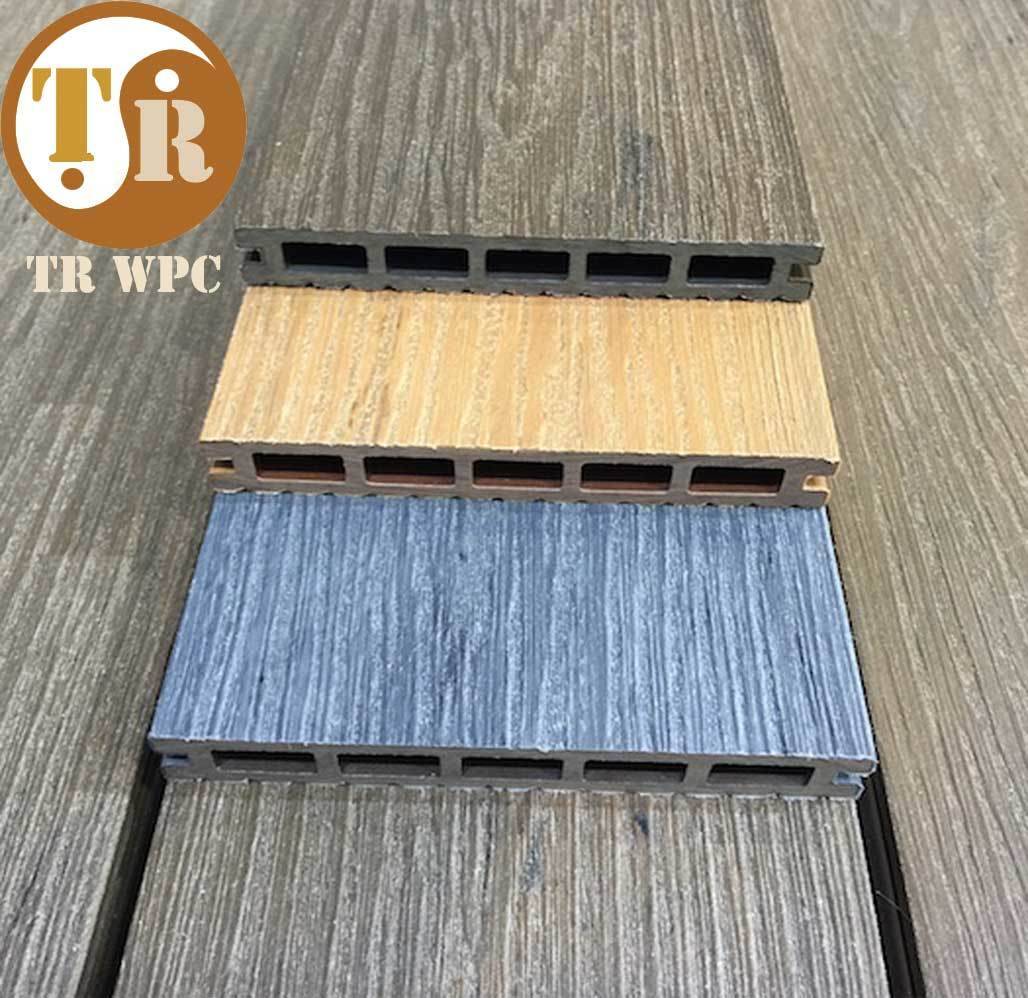 Supply 140*25mm Co-Extruded WPC Decking