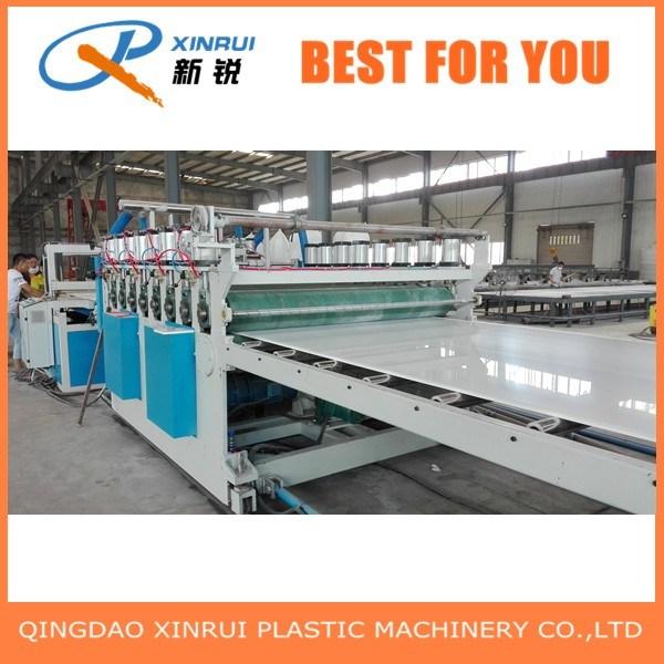 PVC Plastic Crust Foam Board Extruder Making Machine