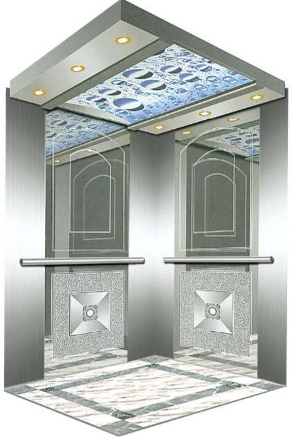 AC Vvvf Gearless Drive Passenger Elevator with German Technology (RLS-132)