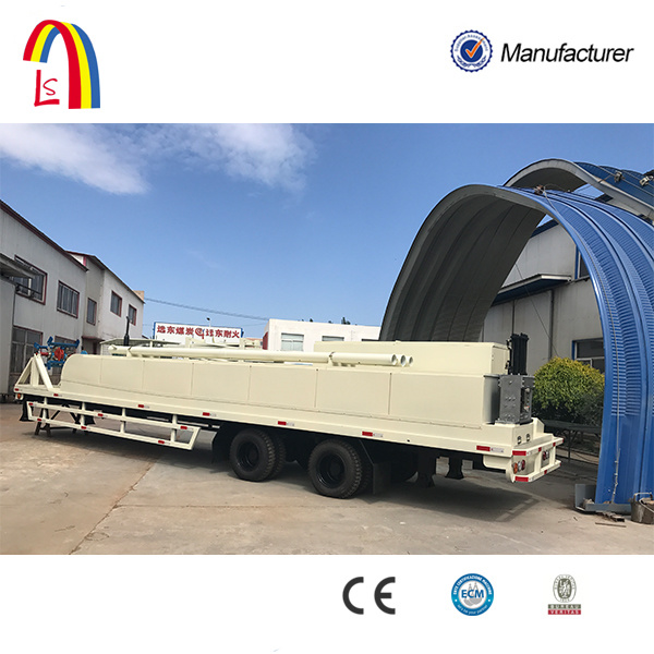 K Type Super Arch Steel Sheet Hangar Building Machine