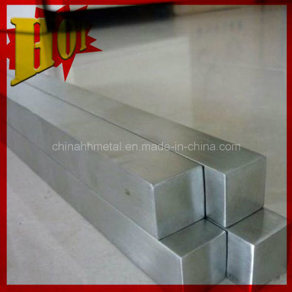 Pure/Alloy Gr2 Gr5 Titanium Square/Hex Rod of Bright Surface