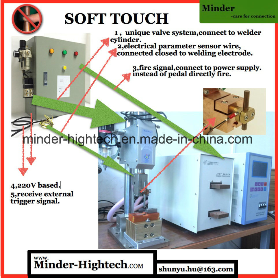 Finger Protected Micro Spot Welding Machine