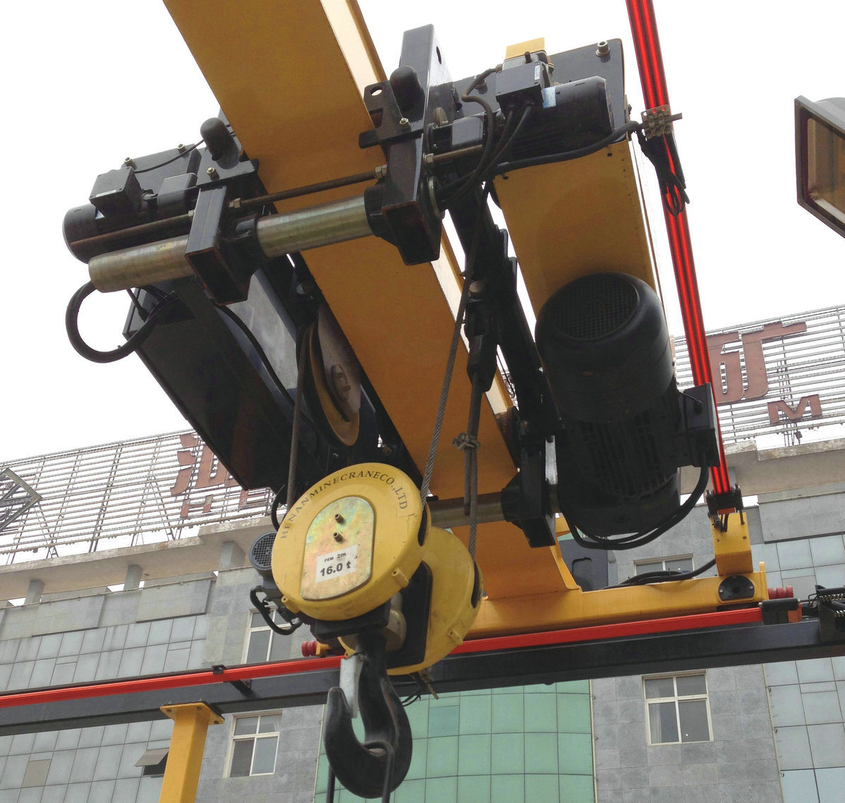 DIN Standard Konecrane Similar Wirerope Electric Hoist