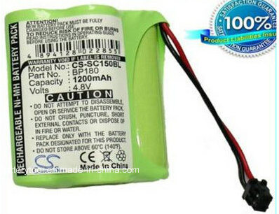 Bar Code Scanner Battery for Uniden Bp120