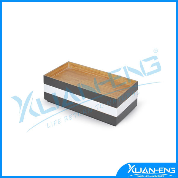 Eco-Friendly Lacquered Bamboo Serving Tray