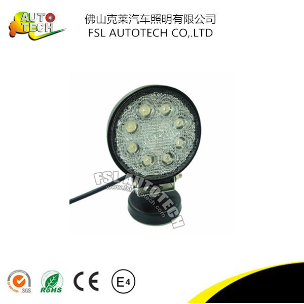 Hot Sale Best Quality 4inch Round 24W Auto Part LED Driving Working Light for Vehicle